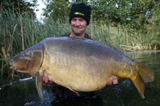 Two tone the current british record carp is dead